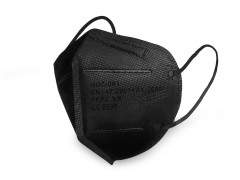 FFP2 szűrős egészségügyi maszk - Fekete Egészségügyi termék