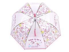 Unicornis kislány esernyő  Gyerek esernyő, esőkabát