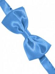 Zsorzsett szatén csokornyakkendő - Égszinkék Csokornyakkendő