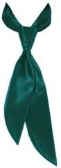 Zsorzsett női nyakkendő - Sötétzöld Női nyakkendők, csokornyakkendő