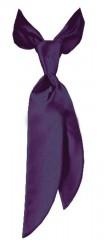 Zsorzsett női nyakkendő - Sötétlila