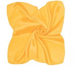 Zsorzsett szatén női kendő - Aranysárga Női kendők, sálak