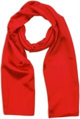 Zsorzsett szatén női sál - Piros
