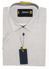 Goldenland smart fitt hosszúujjú ing - Fekete pöttyös Slim, Smart fazon