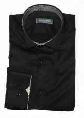 Marco Renzo slim h.u férfi ing - Fekete
