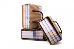 Női zsebkendő szett dobozban - 3 db Zsebkendő