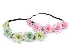 Rugalmas hajpánt virágokkal Női kiegészítők