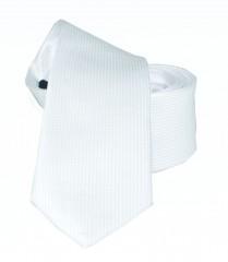 Goldenland slim nyakkendő - Fehér Egyszínű nyakkendő