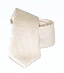 Goldenland slim nyakkendő - Ecru Egyszínű nyakkendő