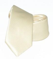 Goldenland slim nyakkendő - Halvány aranysárga