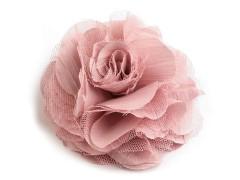 Rózsa kitűző - Púder