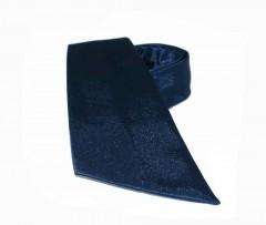 Szatén női nyakkendő - Sötétkék