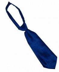 Szatén női tépőzáras nyakkendő - Sötétkék Női nyakkendők, csokornyakkendő
