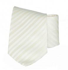 Classic prémium nyakkendő - Ecru csíkos