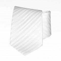 Classic prémium nyakkendő - Fehér csíkos
