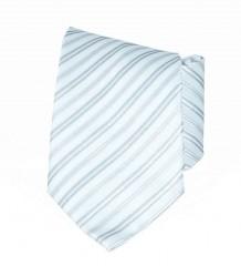 Classic prémium nyakkendő - Ezüst csíkos