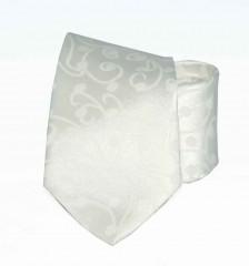 Exklúzív nyakkendő -  Ecru mintás Mintás nyakkendők