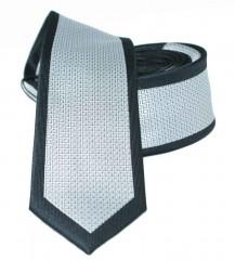 Slim nyakkendő - Ezüst-fekete