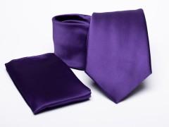 Prémium nyakkendő szett - Lila Nyakkendő szettek