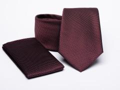 Prémium nyakkendő szett - Bordó Nyakkendő szettek