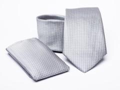 Prémium nyakkendő szett - Ezüst Nyakkendő szettek