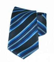 Newsmen gyerek nyakkendő - Kék csíkos Gyerek nyakkendők