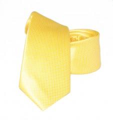 Goldenland slim nyakkendő - Napsárga Egyszínű nyakkendő