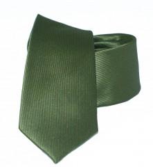 Goldenland slim nyakkendő - Sötétzöld Egyszínű nyakkendő