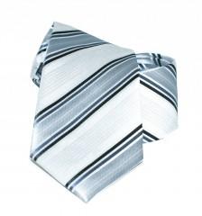 Newsmen gyerek nyakkendő - Ezüst csíkos Gyerek nyakkendők
