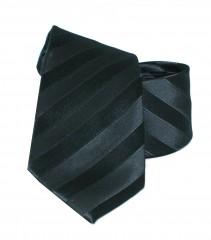 Newsmen gyerek nyakkendő - Fekete csíkos Gyerek nyakkendők
