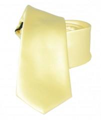 NM slim szatén nyakkendő - Sárga
