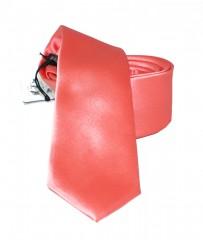 NM slim szatén nyakkendő - Puncs