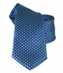 NM slim nyakkendő - Kék kiskockás