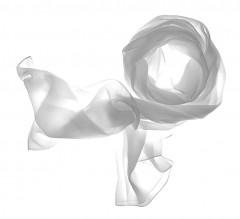 Női muszlin kendő - Fehér