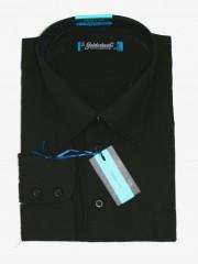 Goldenland extra hosszúujjú ing - Fekete Extra méret