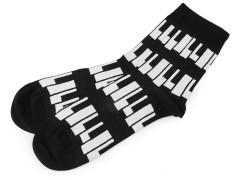 Színes pamut zokni - Zenészeknek