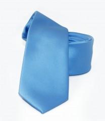 NM slim szatén nyakkendő - Égszínkék Egyszínű nyakkendő