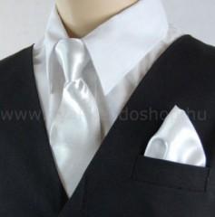 Gyerek nyakkendő szett - Fehér Gyerek nyakkendők