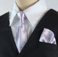 Gyerek nyakkendő szett - Halványlila Gyerek nyakkendők