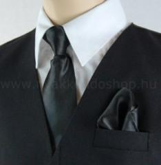 Gyerek nyakkendő szett - Fekete Gyerek nyakkendők