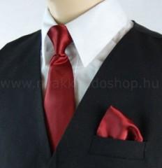 Gyerek nyakkendő szett - Meggybordó Gyerek nyakkendők