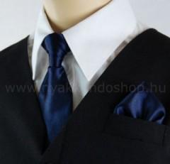 Gyerek nyakkendő szett - Sötétkék Gyerek nyakkendők