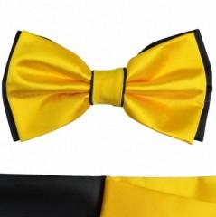 Csokornyakkendő - Sárga-fekete