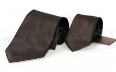 Goldenland apa-fia nyakkendő szett - Sötétbarna Apa-fia szett