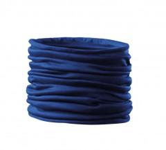 Szatén női cső kendő - Kék