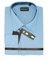 Goldenland extra hosszúujjú ing - Világoskék Extra méret