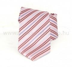 Saint Michael selyem nyakkendő - Rózsaszín csíkos