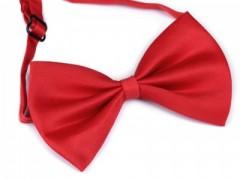Csokornyakkendő - Piros Egyszínű