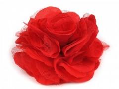 Rózsa kitűző - Piros