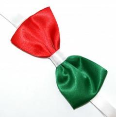 Csokornyakkendő - Tricolor Mintás